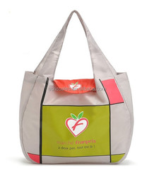 Multi-use folding shopping bag contracted environmental light Oxford environmental receive bag grocery bags