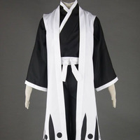 2015 Bleach cosplay costume Bleach 10th Division Captain Toushiro Hitsugaya Cosplay anime costume made classic cartoon cosplay