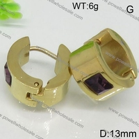 Bali design gold earring accessories