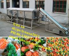 vegetable blanching machine /automatic broccoli blanching machine