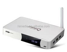 2015 Hisilion 3798C Arm cortex A9 based 2GB DDR 8GB Flash Android 4.4OS quad core 1.6Ghz HiMEDIA Brand smart internet IPTV box