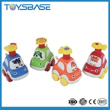 Plastic forest animal car for sale, toy baby games