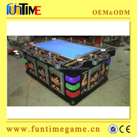 Indoor High return Sports Virtual Fishing Game Machine Video Games / kids sea fishing game machine