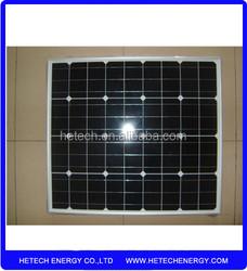 Buy wholesale price 12V 30W monocrystalline solar panel