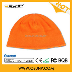 Top sale with removable mic bluetooth winter beanie hat wholesale