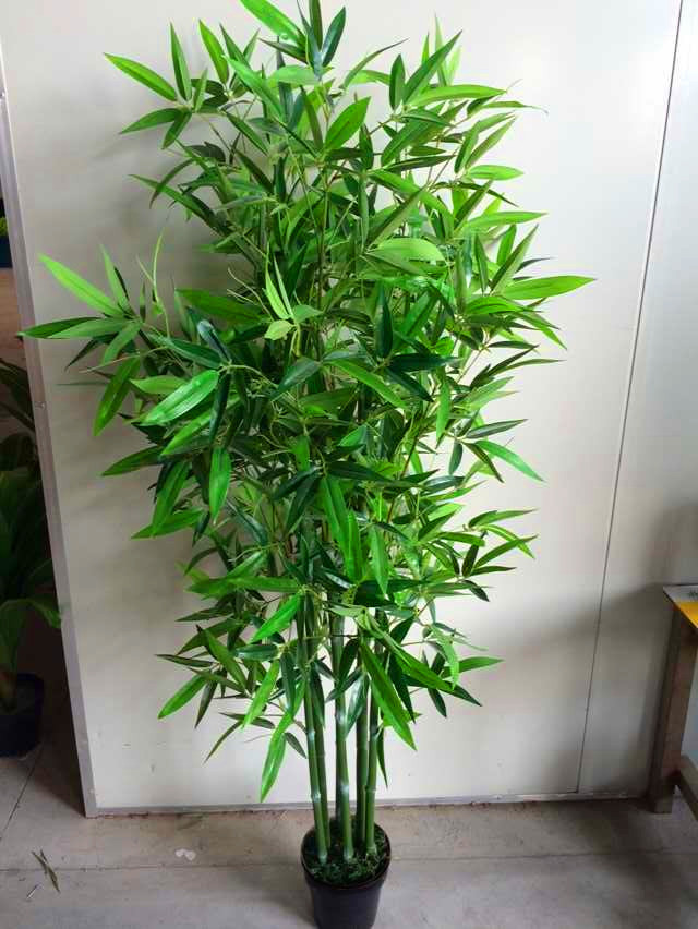 Wholesale plastic artificial bamboo sticks for decoration