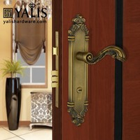 Different kinds of antique locks for residential doors