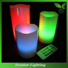 Promotional remote control led candle for Christmas decoration
