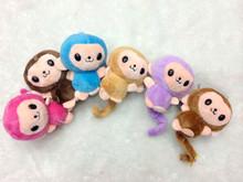 Hot Sale Cheap High Quality Soft Cuddly stuffed monkey keychain