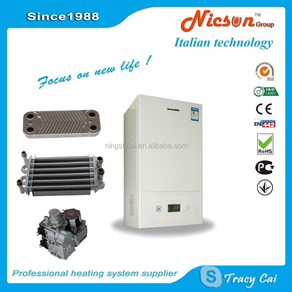 Gas boiler for safe home heating system low carbon heating for Gas home heating systems