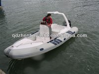 Zodiac style Hypalon material 5.8M RIB boat