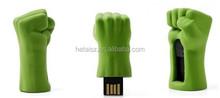 The avengers Hulk fist USB Flash drive 8GB 16GB 32GB 64GB Pen drive usb flash memory stick USB 2.0 U Disk