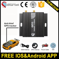 Free branding android gps and gsm antennas gps car tracker
