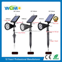 Brightest LED Solar Lights: Uses Next Generation Warm White LEDS (No Icy Blue Color)