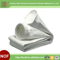 Anti-abrasion Polyester Dust Filter Bag For Cement / Tobacco / Steel Plant Dust Filtration