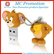 Customized cartoon generic usb flash usb hard disk
