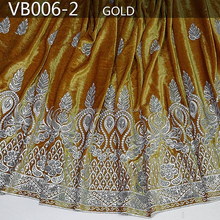 VB006-2 embroidery design 2015 fashion velvet lace, high quality african velvet lace fabric