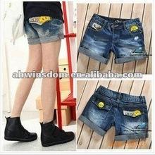 2012 korean denim shorts for ladies