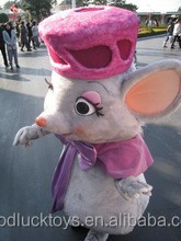 Cutest adult walking mice mrs mascot customize Lovely animal