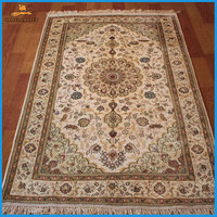 3x5 foot 91x152 cm white hand knotted rug carpets