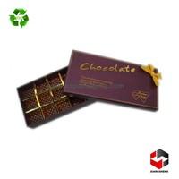 luxury custom made chocolate packaging materials