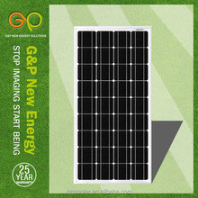 high efficiency best price mono solar panel 100 w for sale