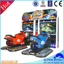 Cheap indoor entertainment motor video game machine super bike 2