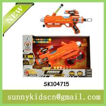 FUNNY soft dart gun ball shooting gun with paintball