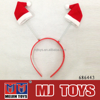 christmas hat plastic kids hairpin new toys for christmas 2014