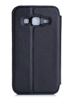 Flip Leather Case for Samsung Galaxy Core Prime