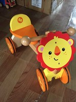 Kids wooden animal ride on toy car