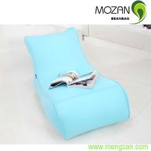 Long sitting bean bag sofa chair