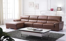 2014 imported Italian leather sofa J822