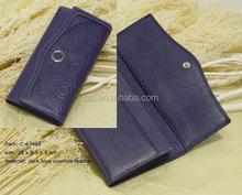 leisure business soft leather men messenger bag