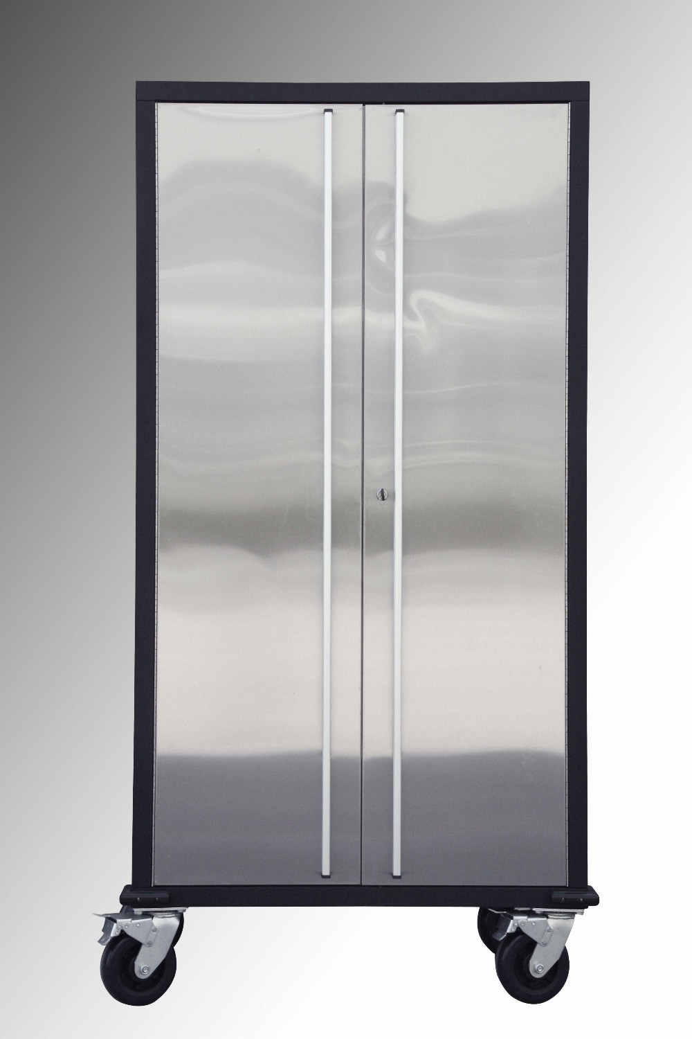 Office Furniture With Door & Lock Cabinet Stainless Steel ...