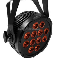 18*12W Mini LED PAR Light with RGBWAP 6 in 1 / RGBWA 5 in 1 stage light