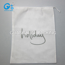 wholesale small jute bags drawstring with logo