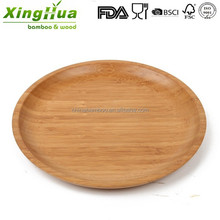 high quality durable bamboo plate, fruit plate, platter