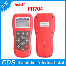 hot sale and professional Code Scanner Reader FR704 Special for French vehiclesautel MaxiDiag FR704 car fault code