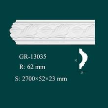 Home Decor Interior Decorating Polyurethane crown molding trim for ceiling