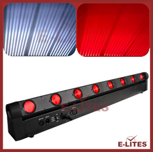 dmx control stage effect sharp beam light, 8*10W beam bar light,club equipment rgbw 4in1 colorful change