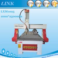 LINK Brand 1025 wood cnc router/ cnc router machine for aluminium 1025