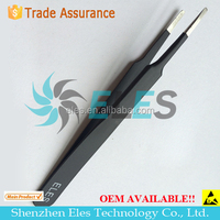 ESD Stainless Steel Tweezers--Skype:elestech-sales3