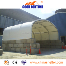 Good Fortune supply the popular dome container tent in alibaba.com