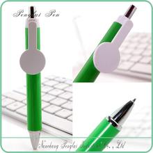 2015 the best for logo advertising plastic large clip pen