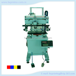 HS-400P Flat bed screen printer with vacuum for machine for printing on cups mugs plates