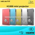 multimedia nuevo pico baratos mini proyector para el teléfono móvil