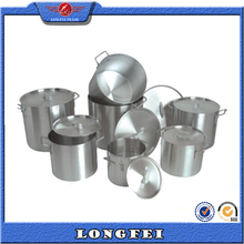 2015 deep and shallow aluminum cooking pot