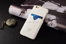 White High quality cell phone case, OEM mobile phone cover, PU leather case