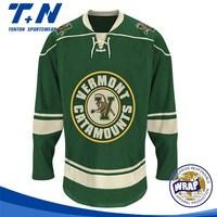 wholesale cheap blank ice hockey jersey